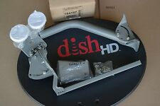 DISH NETWORK 1000.2 EASTERN ARC DPPLUS HDTV 72.7 & 61.5 DISH ANTENNA KIT 3 OUTS