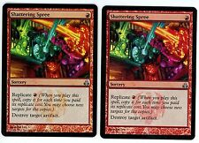 ***2x FOIL Shattering Spree*** MTG Guildpact -Kid Icarus-