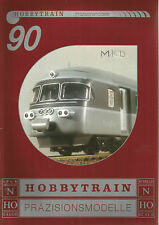 CATALOGUE HOBBYTRAIN 1990 - ECHELLE N ET HO - LOCOMOTIVES - WAGONS