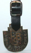 * Link Belt Speeder LBS Crane Loader Watch Fob Robbins Co Attleboro Construction