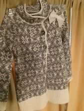 TAHARI  GIRLS  SWEATER CARDIGAN  Size L(6X)  NWT