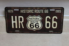HISTORIC ROUTE 66  NOVELTY LICENSE PLATE 1926-1985 NEW