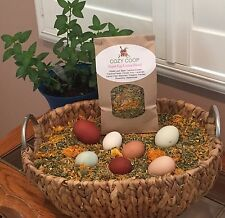 Herbs For Your Hen's Nesting Box- Super Egg Laying Blend (8oz Bag)