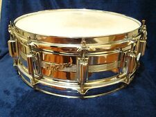 Rogers Vtg Dynasonic snare Drum Chrome 14x5 ! Wow !