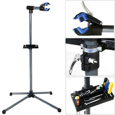"Pro Bike Repair Stand Adjustable 39"" To 60"" Blue Cycle Bicycle Rack"