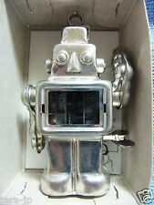 Tiny Tin Sparkling Robot (METAL) Wind-Up Sanko Seisakusho Japan