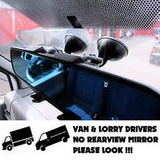 VAN LORRY REARVIEW MIRROR CAMERA DVR WINDSCREEN SUCTION HOLDER MOUNT REVERSING