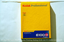 Kodak Ektachrome E100VS 9x12cm film BOX10 EXP 08/05 kept mostly frozen TESTED
