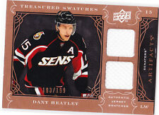 2009 / 2010 Artifacts DANNY HEATLY Treasured Swatches Jersey Card 193/199!