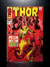 COMICS: Marvel: Thor #153 (1968) - RARE (spiderman/loki/avengers/ironman)