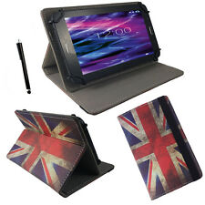 7 zoll Motiv Tablet Tasche Hülle - Point of View Mobii Kids  - England Flagge 7