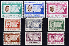 YEMEN NORTH 1966 PEACE KEEPERS OF THE WORLD SET MICHEL 475A-83A