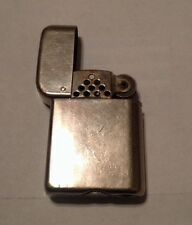 1940'S BOWERS KALAMAZOO MICH. CHROME BRASS NO. 10 LIGHTER