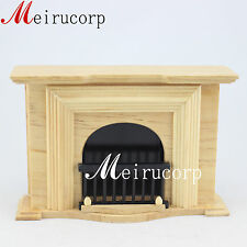 Fine 1/12 Scale Dollhouse Miniature Furniture Well Made Fireplace for Dollhouse