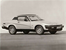 TRIUMPH TR7 FIXED HEAD COUPE, PERIOD PHOTOGRAPH.