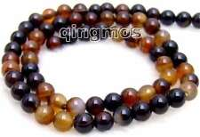 "6mm Round multicolor agate Beads Strand 15""-los225"