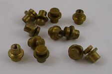 Motherboard Standoff Screws Yellow Brass MOBO Mounts Hardware 12 pieces