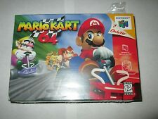 Mario Kart 64  (Nintendo 64, 1997) n64 NEW Factory Sealed Original Release
