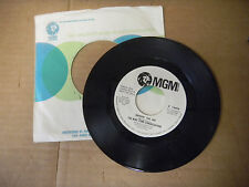 THE MIKE CURB CONGREATION it's a small small world/ shinin on me DJ COPY MGM  45