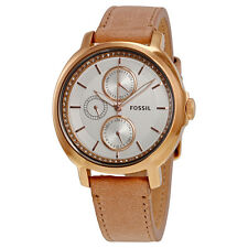 Fossil Chelsey Multi-Function Crystal-set Leather Ladies Watch ES3358