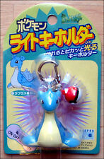 Pokemon Lapras Laplace With Pokeball Light Up Keychain Toy Figure by Tomy RARE!!