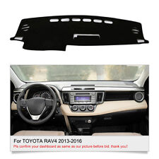 Fly5D Dashboard Cover Mat DashMat For TOYOTA RAV4 2013 2014 2015 2016 Dash Parts