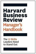 The Harvard Business Review Manager's Handbook: The 17 Skills Leaders, PAPERBACK