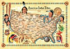 Jigsaw puzzle Native American Indian Tribes 500 piece NIB