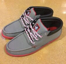 DVS Hunt Grey Gunny Size 12 SB DC Skate Deck Boat Shoes $78 Box Price
