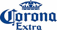 Corona Cornhole Baggo Bags Game Bean Bag Toss Decals Stickers Lg  20w  x 10h NEW