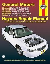 1997-2003 Chevrolet Malibu, 1999-2003 Alero, 1997-2000 Cultass... Repair Manual