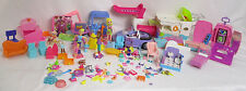 LOT of Vintage Polly Pocket Vehicles Clothes Accessories Pets Furniture Playsets