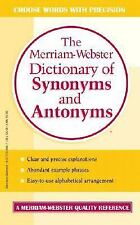 Merriam-Webster Dictionary of Synonyms and Antonyms (1994, Hardcover, Prebound)