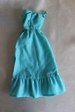 Barbie doll Deluxe Quick Curl blue dress 1975 #9217 vintage
