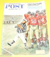 Post Magazine 12/05/1959 Small Football Referee cover Nice Picture! See!