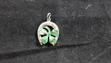 VINTAGE STERLING SILVER LUCKY CLOVER CHARM