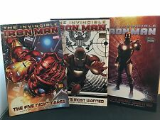 The Invincible Iron Man:The Five Nightmares/World's Most Wanted Vol. 1-3 1st Pr.