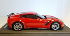 2015 Corvette C7 Z06 in Torch Red by BBR in 1:18 Scale