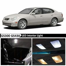 15x White Interior LED Lights Package Kit for 1998-2005 Lexus GS300 GS430
