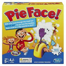 Pie Face Game From Hasbro - Fun Filled Family Game of Suspense - UK Edition