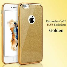 Glitter Bling Clear Silicone Cases iPhone 6 6S Detachable Ultra Thin TPU Skin