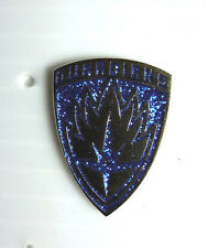 """Guardians of the Galaxy Blue Sparkle Logo 1"""" Cloisonne Metal Pin-FREE S&H"""