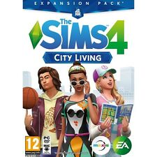 The Sims 4 City Living Expansion Pack PC Game Brand New