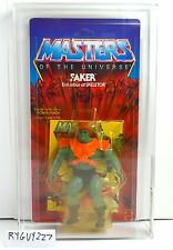 MOTU, Faker, AFA 85, Graded, Masters of the Universe, MOC, carded, He Man sealed