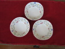 "Three (3) Johnson Brothers ""Summer Chintz"" Cereal Bowls"