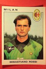 Panini Calciatori 1991/92 N. 210 MILAN  ROSSI OTTIMA / EDICOLA!!!