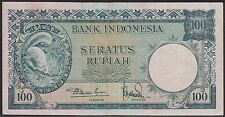Indonesia 100 rupiah 1957, VF+, Squirrel, Pick 51 / H-243b