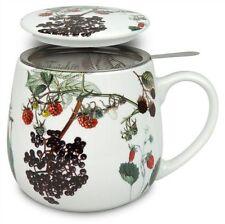 Teetasse mit Sieb und Deckel My favourite tea Früchte Könitz
