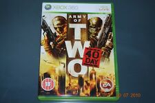 Army of Two 40th Day Xbox 360 PAL Reino Unido ** ** GRATIS UK FRANQUEO