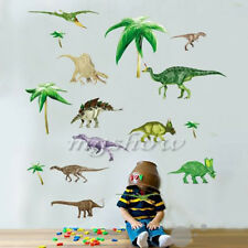 Removable Wall Stickers Age Dinosaurs Baby Nursery Kids Room Decor Decals Mural